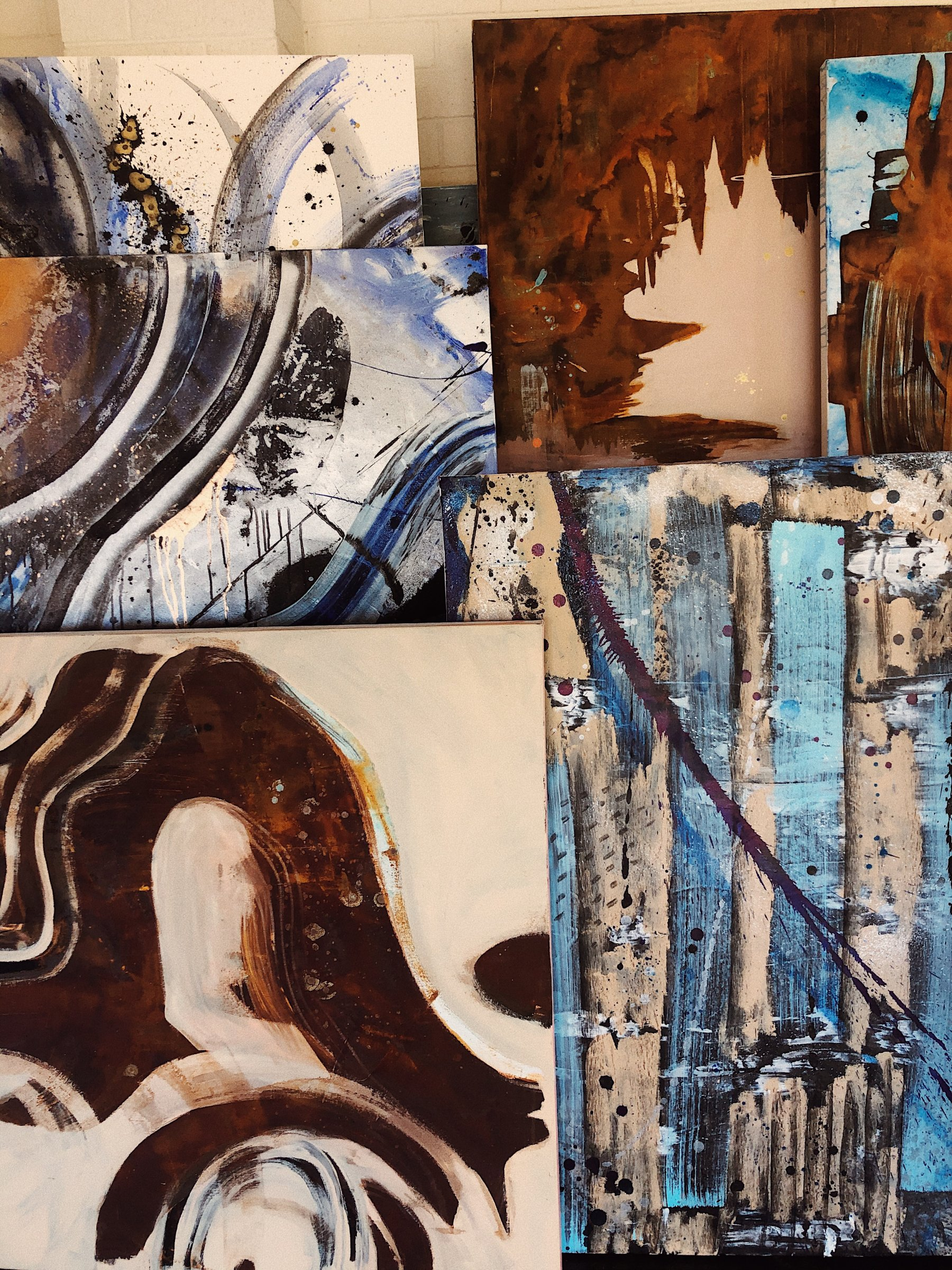 Bryn Newman Contemporary Artist - Abstract Expressionism Artist